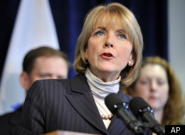 Massachusetts Attorney General Martha Coakley speaks to reporters at a news conference in Boston, Dec. 1, 2011, about the lawsuit in which Massachusetts sued five major banks.
