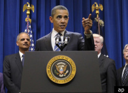 President Obama talking about the mortgage settlement on Thursday.