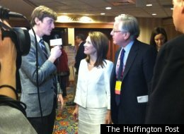 At CPAC, Michele Bachmann optimistic about the capacity of the Republican base to rally around a candidate.
