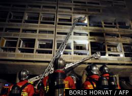 L'incendie le 9 février