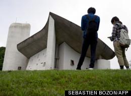 La chapelle Ronchamp de Le Corbusier