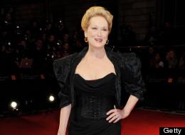 Meryl Streep at the 2012 BAFTAs
