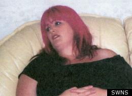 Sharon Holden before losing nine stone