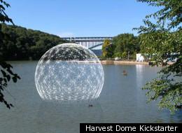 Harvest Dome Kickstarter