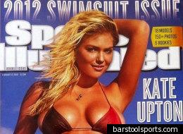 Kate Upton sur la couverture du Sports Illustrated Swimsuit Issue.