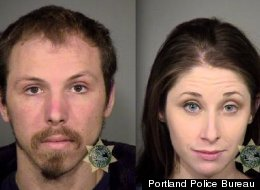 Nikolas Harbar and Stephanie Pelzner were arrested after a Valentine's Day role-play romp.
