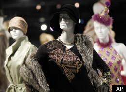 Costumes from FIDM's costume exhibit.