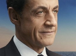 La photo de campagne du président Nicolas Sarkozy.