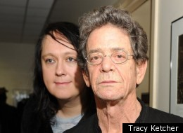 Antony and Lou Reed at the Tibet House Benefit Concert.