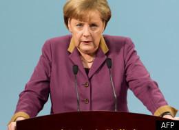 Angela Merkel au Sommet européen du 30 janvier