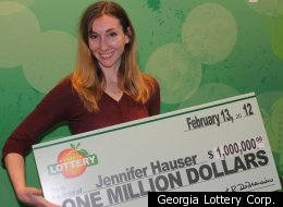 CNN producer Jennifer Hauser has won $1 million in the Georgia Lottery months after winning $100,000.