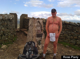 Nigel Keer was fined £315 after rambling through a Leeds beauty spot naked