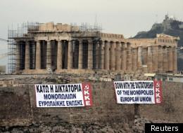 L'Acropole, à Athènes.