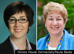 Illinois State Rep. Kelly Cassidy (D-Chicago), left, will face off against challenger Paula Basta in the March 20 primary election.