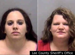Two Florida women allegedly attacked restaurant employees after failed attempts to earn extra beer money by flashing customers.