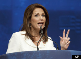 Michele Bachmann speaks at the 2012 CPAC