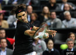 FILE: Roger Federer At The ABN AMRO World Tennis Tournament - Day Four