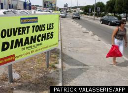 En 2007 dans la zone commerciale de plan-de-Campagne à Marseille.