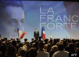 Nicolas Sarkozy, ce dimanche, devant son public au Parc Chanot, à Marseille