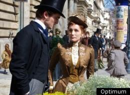 Robert Pattinson and Kristin Scott Thomas in 'Bel Ami'