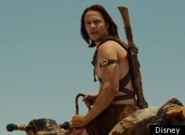 Taylor Kitsch stars in 'John Carter', based on the novels of Edgar Rise Burroughs