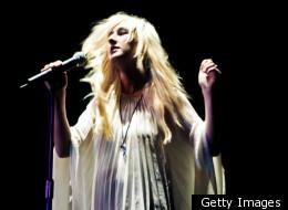 Zola Jesus, a.k.a. Nika Roza Danilova, performs in London last fall.