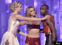 Heidi Range and Sebastien Foucan have been axed from Dancing On Ice
