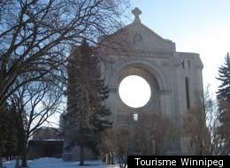 Festival du Voyageur: la cathédrale de Saint-Boniface