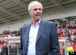 Scandinavian scorer: Sven-Göran Eriksson did a lot of scoring off the pitch as England manager