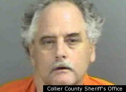 When Mark Loescher,51, was arrested for assault in Naples, Fla., he warned officers that, among other things, he was half-orangutan, Elvis Presley's borther and director of the CIA.