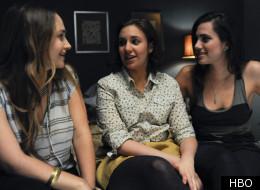 Jemima Kirke, Lena Dunham and Allison Williams star in