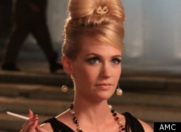 January Jones as Betty Draper on