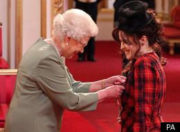 Helena Bonham Carter is made a CBE