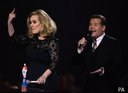 Adele was cut short during her Brits acceptance speech, following the decision to transmit the show live