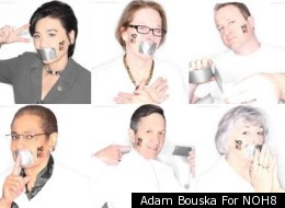 Adam Bouska For NOH8