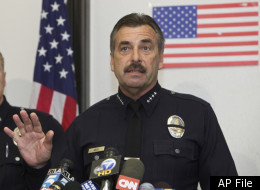 AP file photo of Los Angeles Police Department Chief Charlie Beck.