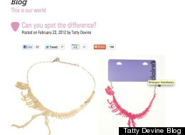 Claire's Accessories have been slammed on social media sites.