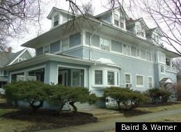 Ernest Hemingway's childhood home in Oak Park.