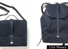 Looking for a cool bag to tote around? Check out this one from Tommy Ton for Club Monaco.