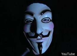 Rick Mercer parodies hacker group Anonymous. (RMR)
