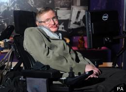 Professor Stephen Hawking visits the Science Museum in London