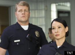Michael Cudlitz and Lucy Liu on TNT's