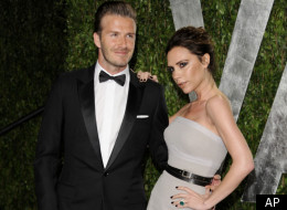Posh and Becks arrive for the Vanity Fair party
