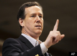 Rick Santorum said Monday that he supports the separation of church and state, on the heels of his statement that the policy makes him