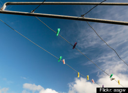A sex worker was electrocuted when she touched a clothesline possibly connected to a live wire in Zimbabwe.