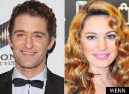 Matthew Morrison and Kelly Brook