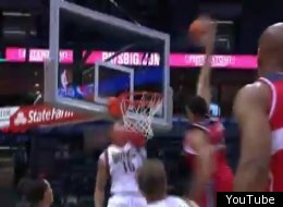 JaVale McGee literally threw it down against the Bucks on Tuesday night.