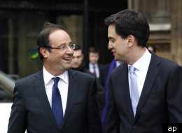 Francois Hollande and Labour leader Ed Miliband met on Wednesday