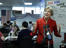 Democratic Senate candidate for Massachusetts Elizabeth Warren.