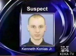 Kenneth Konias, Jr. is wanted for allegedly killing Michael Haines and stealing from an armored car.